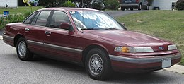 Ford Crown Victoria del 1992