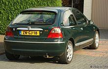 Boot Mat Trunk Liner Rover 25 RF hatchback 3-doors 1999-2004