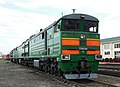 2ТЭ10М-3335, Россия, Омская область, депо Омск (Trainpix 160658).jpg