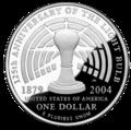 2004 Thomas Alva Edison Silver Dollar (Reverse).png