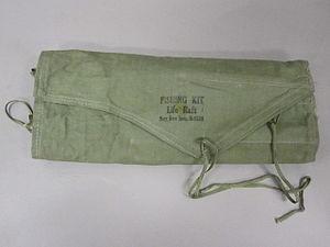 2005-58-18 Fishing Kit, Life Raft, M-552A, Exterior.jpg