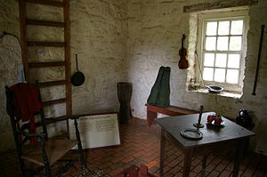 Stratford Hall (plantation) - House Slave Quarters at Stratford Hall Plantation