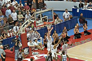 2007–08 Texas A&M Aggies men's basketball team - Image: 2008NCAA A&Mvs UCLA