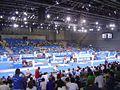 2008 Olympic Modern penthalton - fencing action.JPG