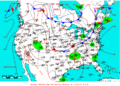 2009-05-24 Surface Weather Map NOAA.png
