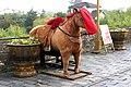 20090926 Makieta konia do pozowania do zdjęć na murach miejskich Suzhou 0540 5887.jpg