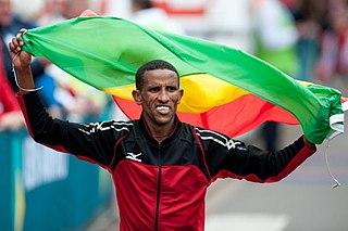 Yemane Tsegay Ethiopian long-distance runner