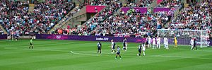 Canada at the 2012 Summer Olympics - Canada versus Great Britain in the quarterfinals.