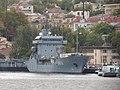 2013-08-31 Севастополь. Вспомогательное судно A512 Mosel ВМС Германии (2).JPG