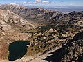 2013-09-18 11 50 15 View of the upper portion of Lamoille Canyon from the northeastern sub-summit of Liberty Peak, Nevada.jpg