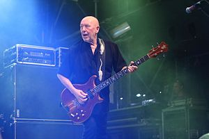 Pete Agnew - Pete Agnew onstage with Nazareth (2014)