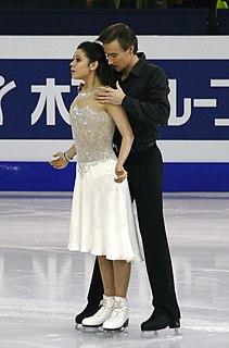 Elena Ilinykh Russian ice dancer