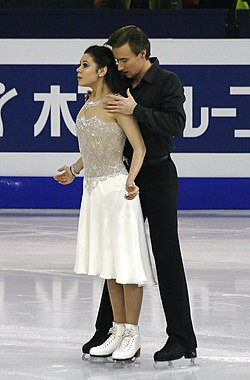 2014 Grand Prix of Figure Skating Final Elena Ilinykh Ruslan Zhiganshin IMG 3714.JPG