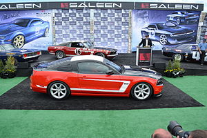 George Follmer - Image: 2014 Saleen Follmer Mustang