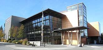 Lynnwood, Washington - The Lynnwood Convention Center, opened in 2003 at the intersection of 196th Street Southwest and Interstate 5