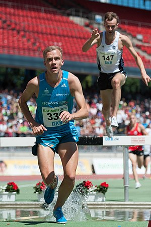 Martin Grau - Grau at the 2015 German Championships