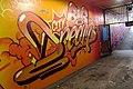 2015 191st Street IRT station tunnel Big City Dreams.jpg