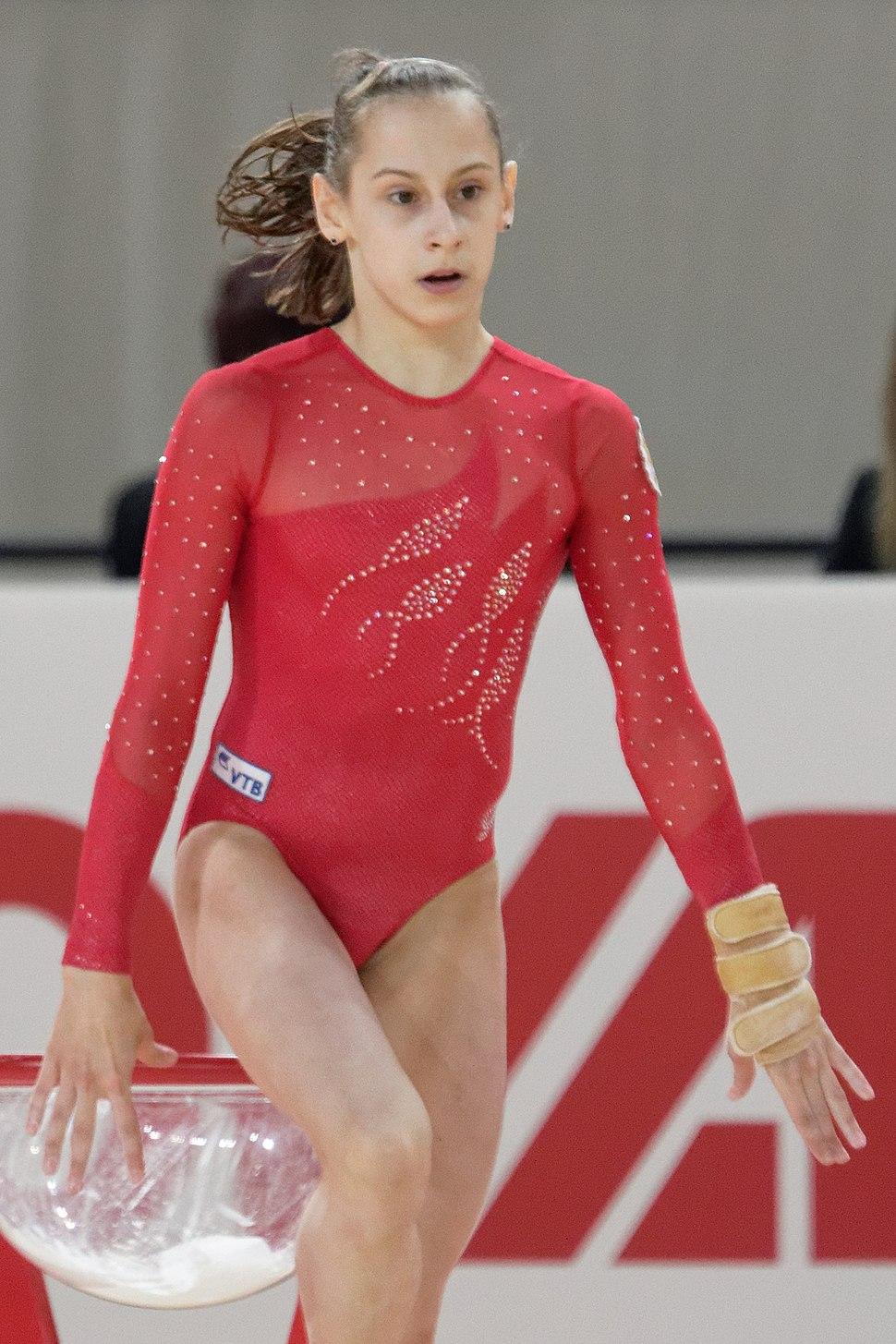 2015 European Artistic Gymnastics Championships - Floor - Maria Kharenkova 03