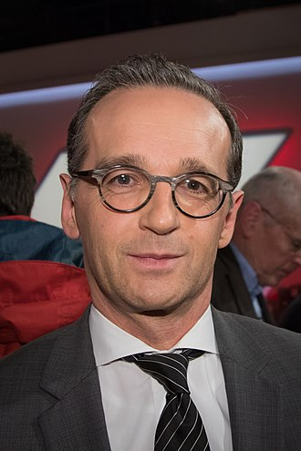 Cabinet of Germany - Image: 2017 11 29 Heiko Maas Maischberger 5685