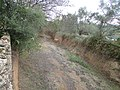 2017-12-26 Looking up-stream of the dry river bed of Algibre River, Paderne, Albufeira.JPG