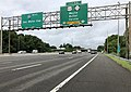 2018-07-25 09 24 25 View west along Interstate 80 (Bergen-Passaic Expressway) at Exit 53 (U.S. Route 46, New Jersey State Route 23, Wayne, Butler, Verona) in Wayne Township, Passaic County, New Jersey.jpg