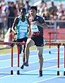 2018-10-16 Stage 2 (Boys' 400 metre hurdles) at 2018 Summer Youth Olympics by Sandro Halank–096.jpg