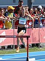 2018-10-16 Stage 2 (Girls' 400 metre hurdles) at 2018 Summer Youth Olympics by Sandro Halank–003.jpg