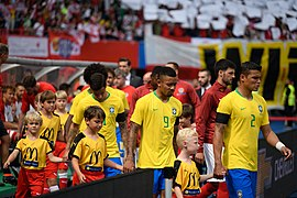 20180610 FIFA Friendly Match Austria vs. Brazil players marching in 850 1573.jpg