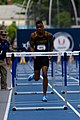 2018 USATF Outdoor National Championships SPC Marcus Maxey- first round of the men's 110m hurdles (28107472087).jpg