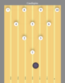 20190525 Candlepin ball and pins on lane.png