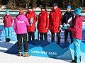 2020-01-15 Biathlon at the 2020 Winter Youth Olympics – Mixed Relay – Mascot Ceremony (Martin Rulsch) 27.jpg