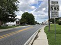 2020-08-04 16 58 55 View south along Maryland State Route 588 (Kenwood Avenue) at Brookwood Avenue in Overlea, Baltimore County, Maryland.jpg