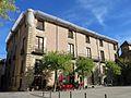210 Palau Comtal de Centelles, façana de la plaça Major.jpg
