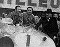 24 Heures du Mans 1939, Wimille et Veyron à côté du ministre de Monzie.jpg