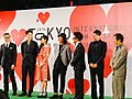 26th Tokyo International Film Festival- Okada Masaki, Kustuna Shiori, Sano Shiro, Kawahara Masahiko, Miyagawa Daisuke & Okumura Kazuyuki (15376095730).jpg