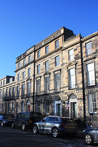 Alexander Ure, 1st Baron Strathclyde - Ure's Georgian townhouse at 31 Heriot Row, Edinburgh