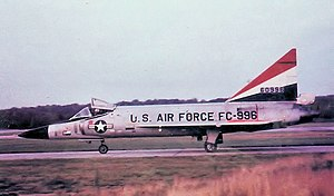 86th Air Division - 32d FIS F-102 Delta Dart, 1962