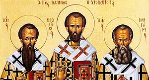 January 30 (Eastern Orthodox liturgics) - Image: 3 Holy Hierarchs