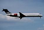405bv - Scandinavian Airlines MD-87, OY-KHI@ZRH,30.04.2006 - Flickr - Aero Icarus.jpg