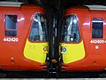 442420 and 442409 Gatwick Express at Victoria (17372353889).jpg