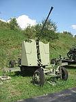 61-K anti-aircraft gun at the Muzeum Polskiej Techniki Wojskowej in Warsaw 2.jpg