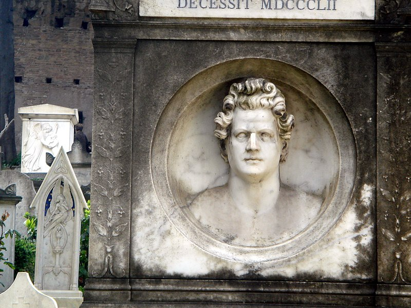 File:6280 - Roma - Cimitero acattolico - Tomba Karl Brulloff (1799-1852) - Foto Giovanni Dall'Orto, 31-March-2008.jpg
