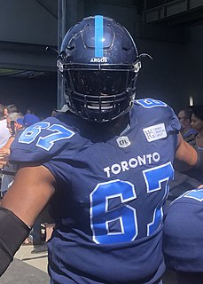 Jamal Campbell Professional Canadian football offensive lineman
