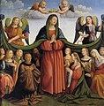 6 Botticini Raffaello Madonna della Misericordia e donatori 1500-1520 Bologna, Pinacoteca Nazionale.jpg