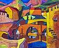 81 - Village cubiste 1910 - Georges Gaudions - Huile sur carton - Musée du Pays rabastinois - inv.D.2006.4.1.jpg