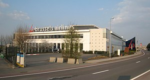 Brussels Airlines - b.house, Brussels Airlines head office on the grounds of Brussels Airport