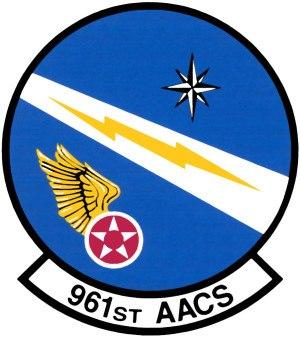 961st Airborne Air Control Squadron - Image: 961st Airborne Air Control Squadron