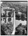 AERIAL VIEW, VIEW NORTHEAST - New River Bridge, Spanning New River at State Route 623, Pembroke, Giles County, VA HAER VA,36-PEMB.V,1-3.tif