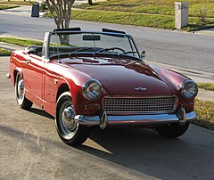 Austin-Healey Sprite Mark IV z 1969 roku
