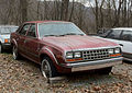 AMC Eagle 4-door sedan (1985-7) Sandstone WV fr.jpg